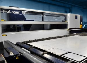 A-W Airflo Industries - Precision Metal Fabrication - Trumpf TruLaser
